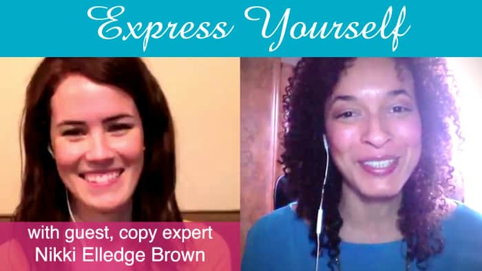 Get Authentic with the Express Yourself Interview Series: Featuring Nikki Elledge Brown
