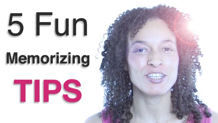 5 Fun Tips for Memorizing